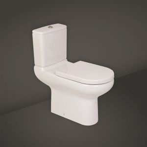 RAK Compact Special Needs Rimless Side Lever Close Coupled Toilet
