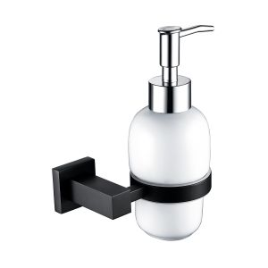 RAK Cubis Black Soap Dispenser