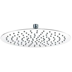 RAK Chrome Round Ultra Slim Air Induction Shower Head 250mm