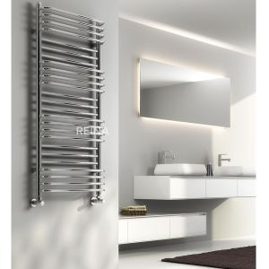 Reina Marco Chrome Steel Designer Radiator 800 x 500mm Siutation