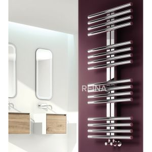 Reina Sorento Polished Radiator 1106 x 600mm Situation