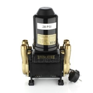 Salamander CT FORCE 20 TU Brass 2.0 Bar Twin Ended Universal Whole House Pump Front