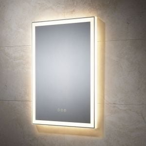 Sensio Destiny LED mirror with lights on at a different setting