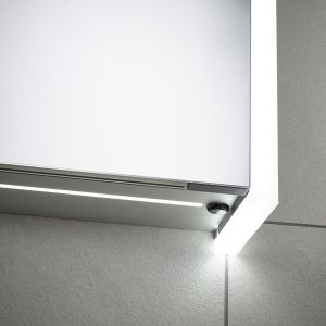 Sensio Ainsley Triple Diffused LED Mirrored Cabinet Switch