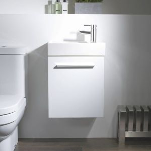 Tavistock Kobe White Bathroom Furniture Lifestyle