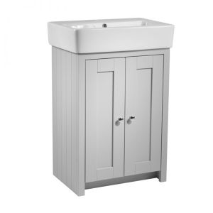 Tavistock Lansdown Pebble Grey Vanity Unit 550mm