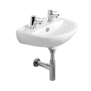 Tavistock Micra 2 Tap Hole Basin and Bottle trap 450mm