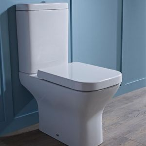 Tavistock Structure Close Coupled Toilet and Soft Close Seat in Situation