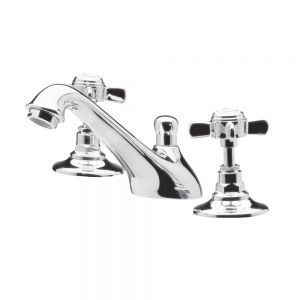 Ultra Beaumont 3 Tap Hole Basin Mixer Tap