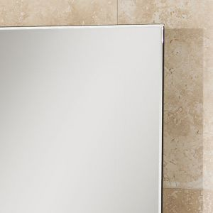Willow Large Heated Bathroom Mirror Detail