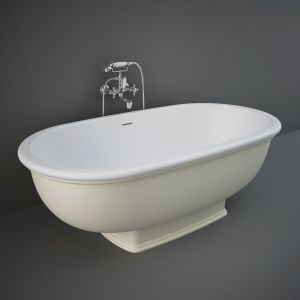 RAK Washington Greige Freestanding Bath 1560mm