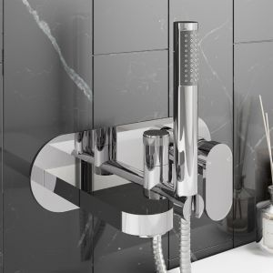 Zenith Filo Wall Mounted Bath Shower Mixer Tap Lifestyle