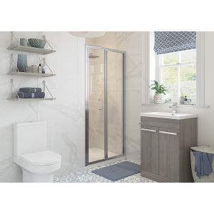 Bathrooms To Love RefleXion Classix Bifold Shower Door 700mm