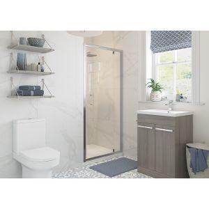 Bathrooms To Love RefleXion Classix Pivot Shower Door 700mm