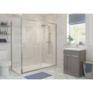 Bathrooms To Love RefleXion Classix Side Panel for Sliding Shower Door 900mm