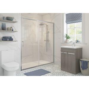 Bathrooms To Love RefleXion Classix Sliding Shower Door 1400mm