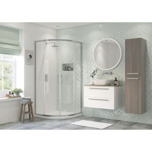 Bathrooms To Love RefleXion Flex 2 Door Quadrant Shower Enclosure 800mm