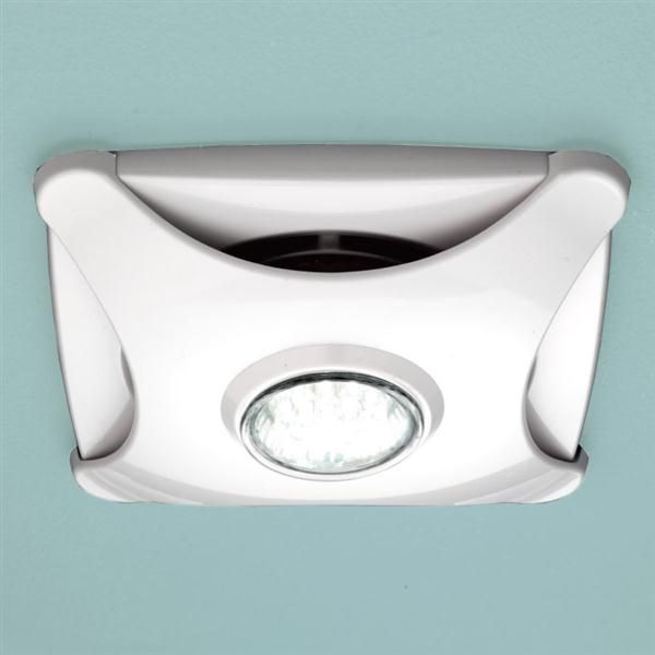 HiB Air-Star Ceiling Mounted Wetroom Extractor Fan in White