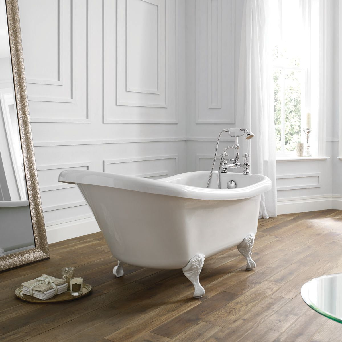 April Eldwick Freestanding Slipper Bath