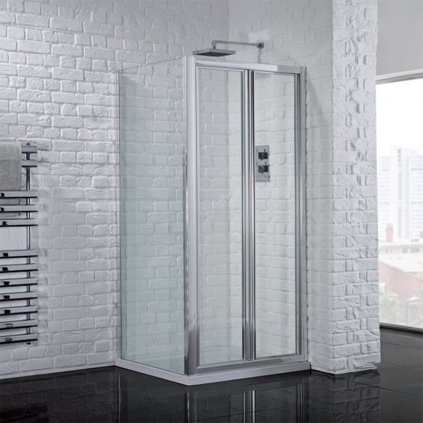 Aquadart Venturi 6 Bi-Fold Shower Door with Optional Side Panel