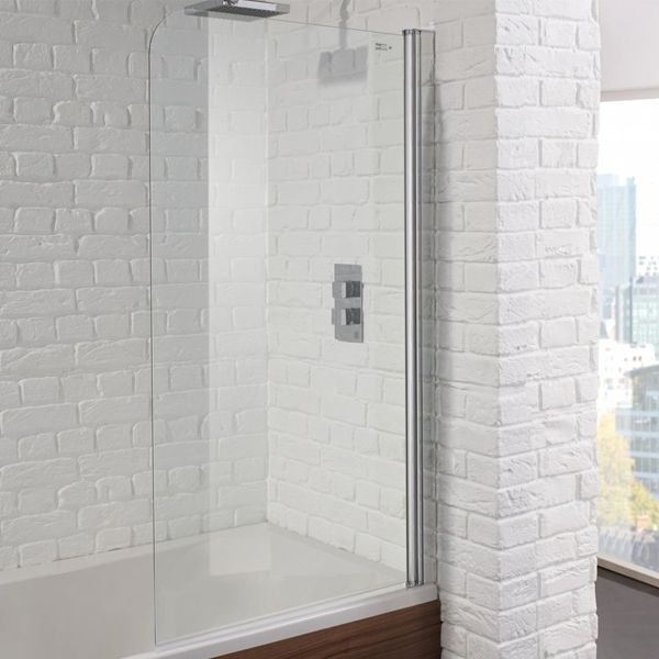 Aquadart Venturi 6 Single Bath Shower Screen