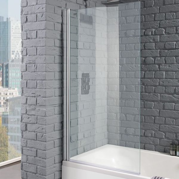 Aquadart Venturi 8 Square Bath Shower Screen