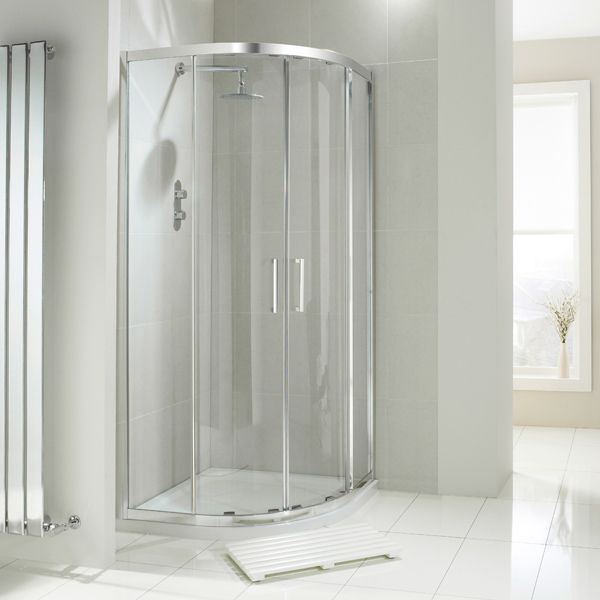 Frontline Aquaglass+ Drift Double Door Quadrant Shower Enclosure