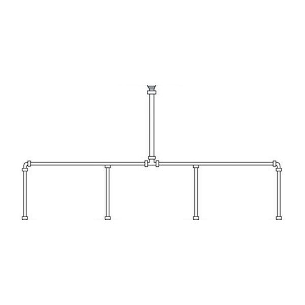 Arley Set of 4 Stainless Steel Sparge Pipes