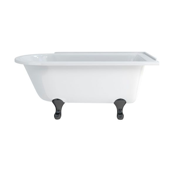 Burlington Hampton Right Handed Showering Bath 1500mm