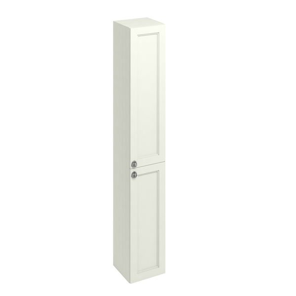 Burlington Sand Double Door Tall Unit 300mm