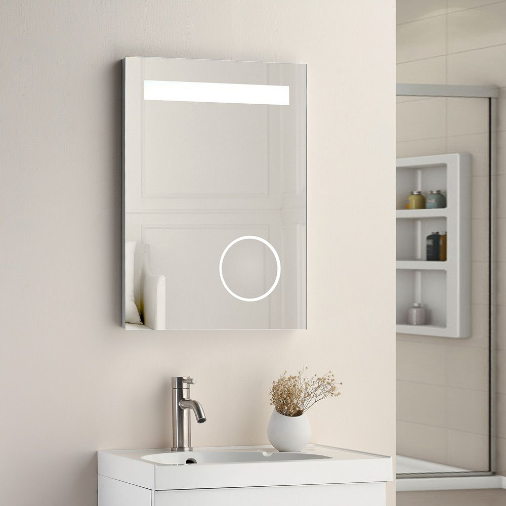 Cassellie Optic LED Bathroom Mirror Lifestyle