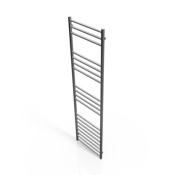 Cassellie Stainless Steel Straight Heated Towel Rail 1600 x 450mm