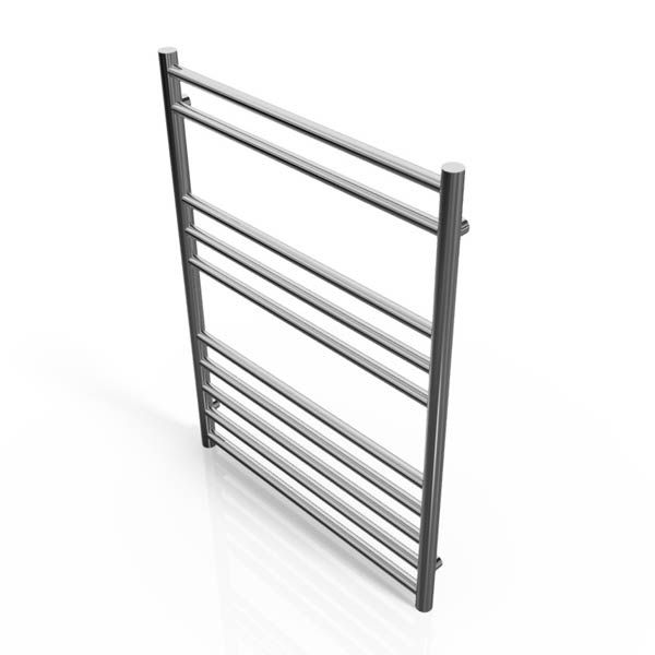 Cassellie Stainless Steel Straight Heated Towel Rail 800 x 600mm