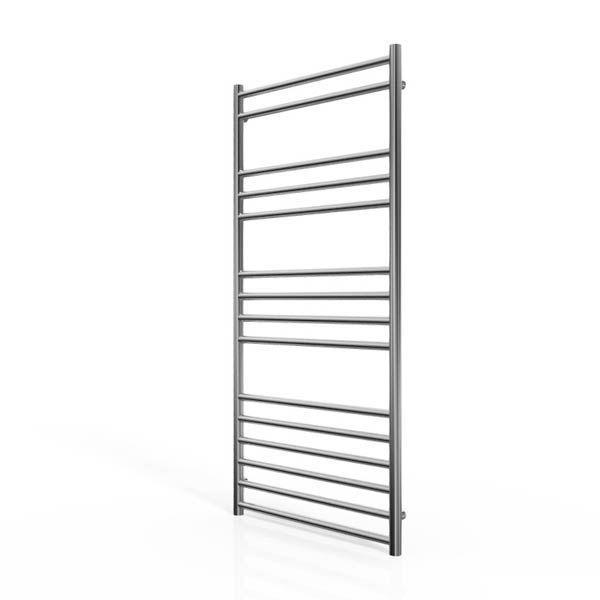 Cassellie Stainless Steel Straight Heated Towel Rail 1200 x 600mm