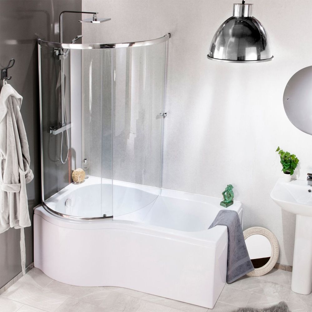 Cassellie Tempest Enclosed Shower Bath Screen