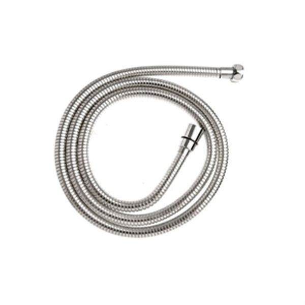 Croydex 1500mm Stretch Reinforced Shower Hose With 7mm Bore Chrome