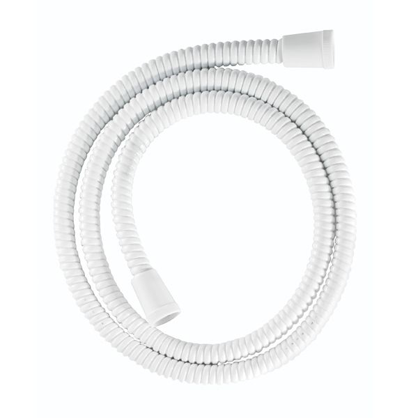 Croydex White PVC Reinforced Shower Hose 1500mm