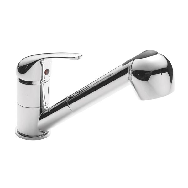 Ultra Eon Mono Sink Mixer Tap & Pull Out Rinser