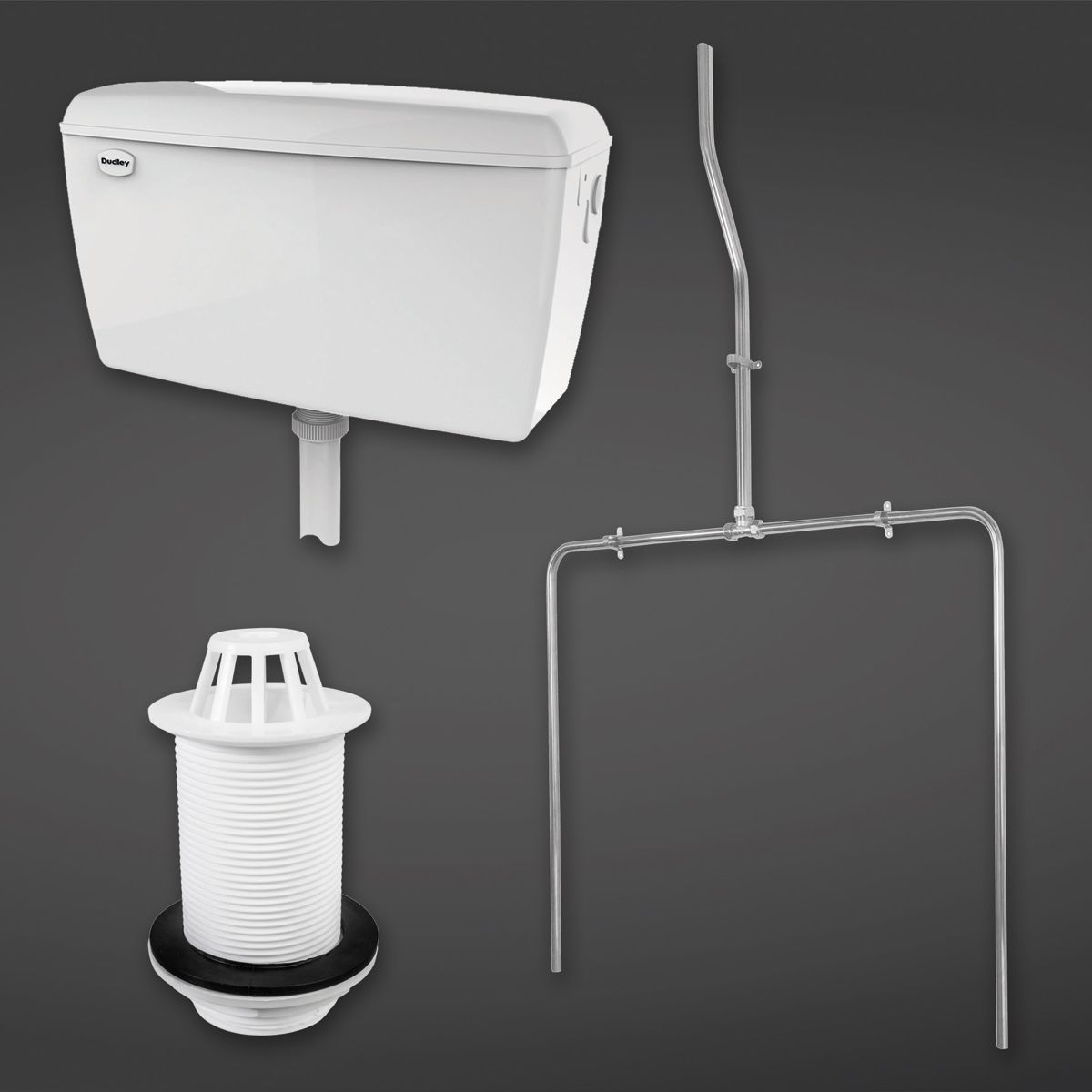 RAK Exposed Automatic Urinal Cistern 9.0L