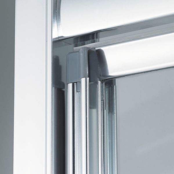 Lakes Classic Silver Pivot Shower Door