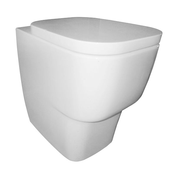Frontline Cubix Back To Wall Toilet with Soft Close Seat