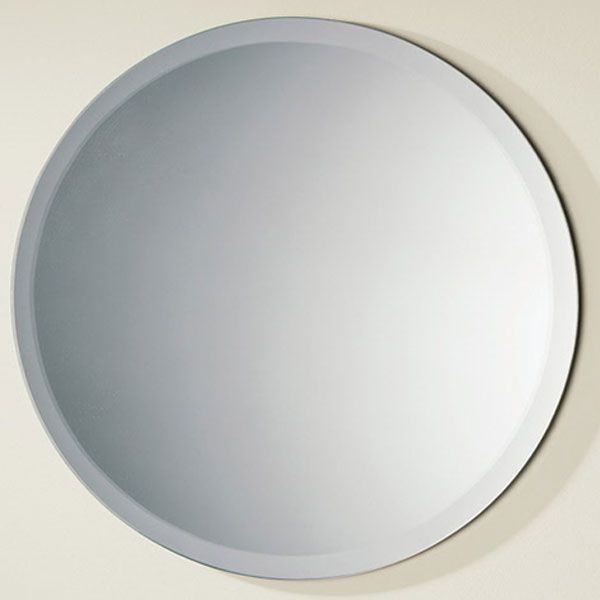 HiB Rondo Round Bathroom Mirror
