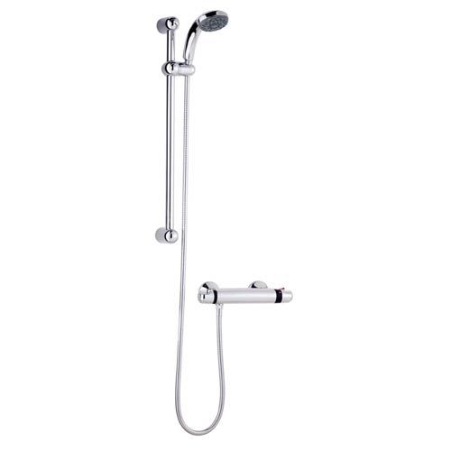 Ultra Dune Thermostatic Mixer Shower Low Pressure