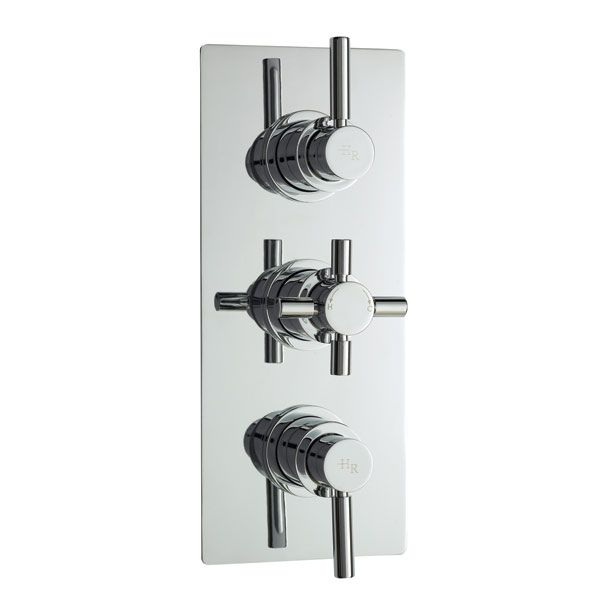 Hudson Reed Pura Plus Triple Concealed Thermostatic Shower Valve