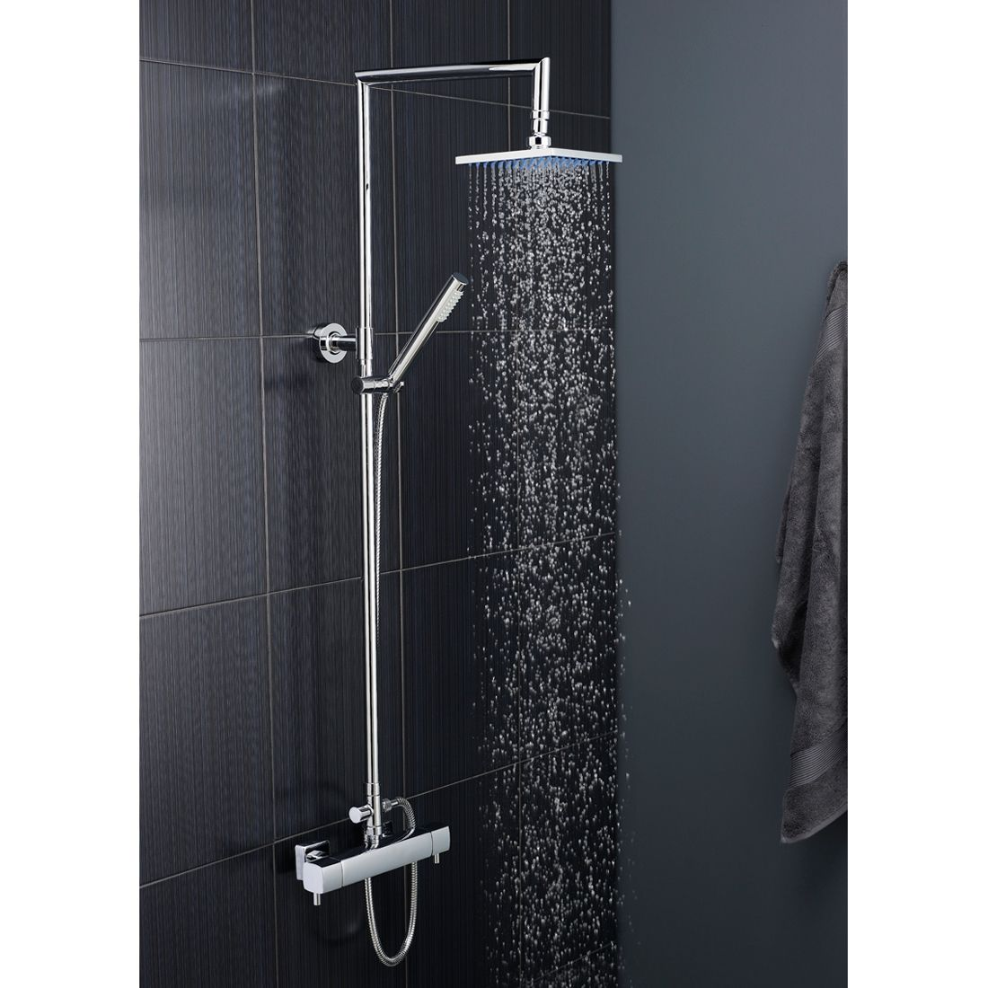 Hudson Reed Tiamo Thermostatic Mixer Shower