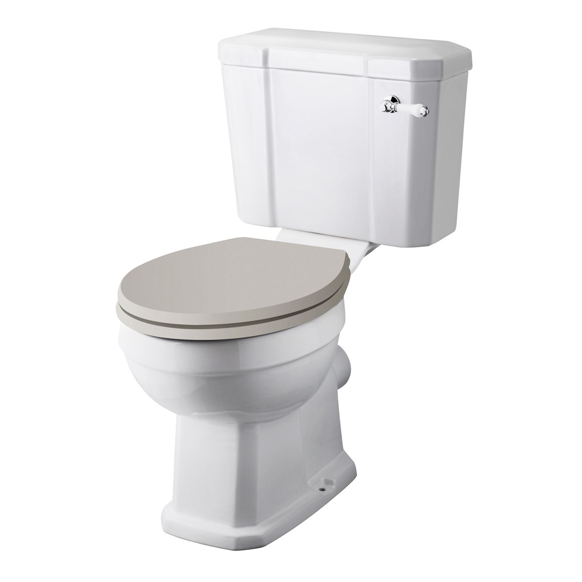 Traditional Close Coupled Toilet