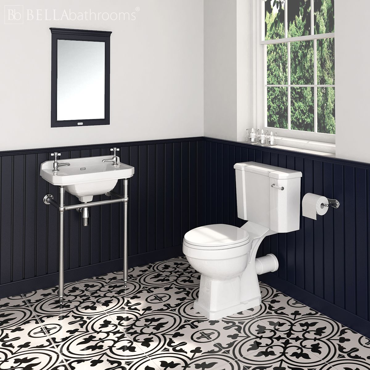 Hudson Reed Richmond Gloss White Cloakroom Suite