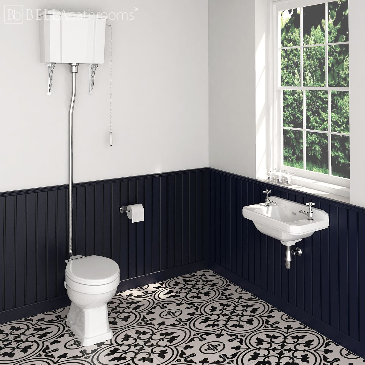 Hudson Reed Richmond High Level Cloakroom Suite