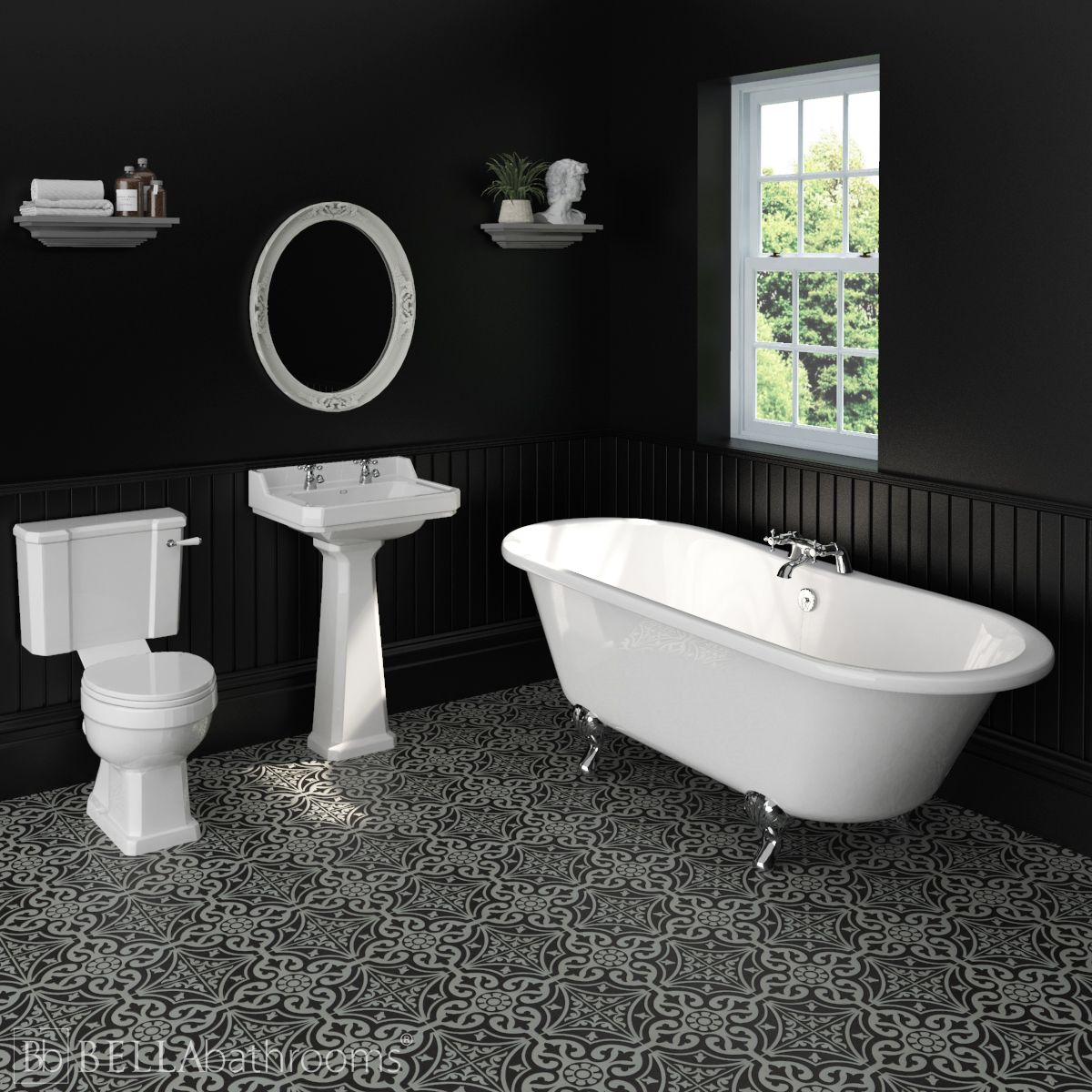 Hudson Reed Richmond Traditional Bathroom Suite