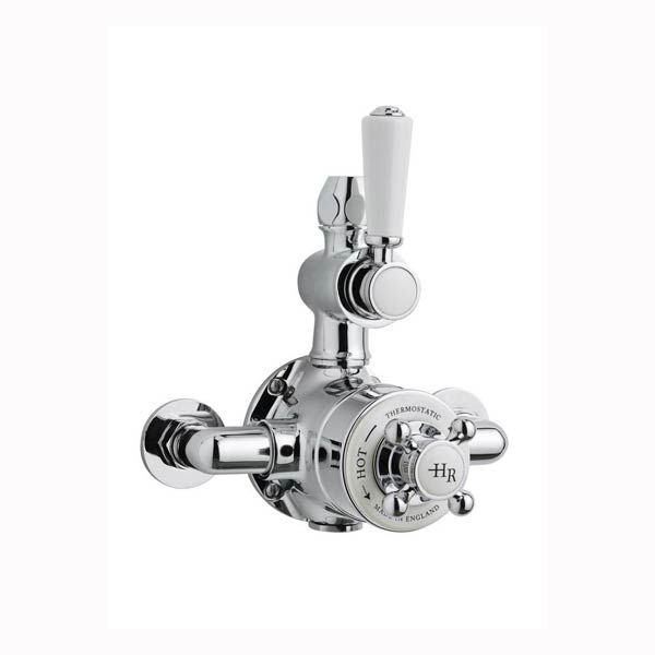 Hudson Reed Topaz Twin Thermostatic Shower Valve